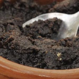 Crème d'ail noir