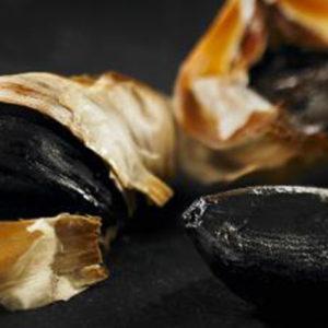 Gousse d'ail noir